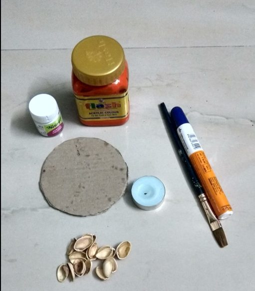 Material for making diy candle holder.